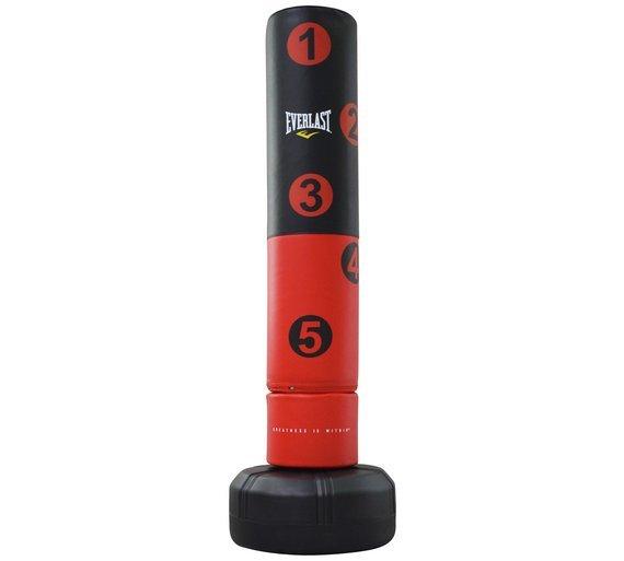 Červený boxovací pytel Everlast - 31 kg