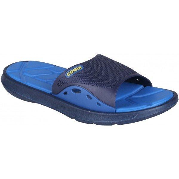 Modré pánské pantofle Coqui