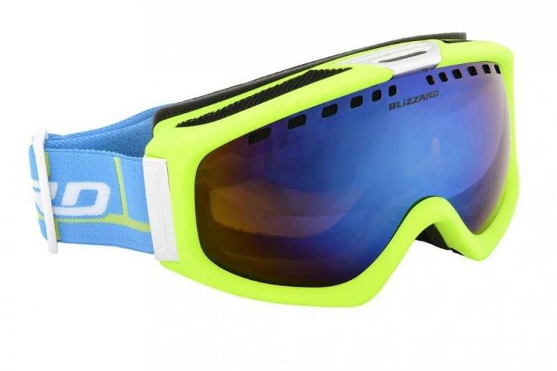 Modré lyžařské brýle Blizzard