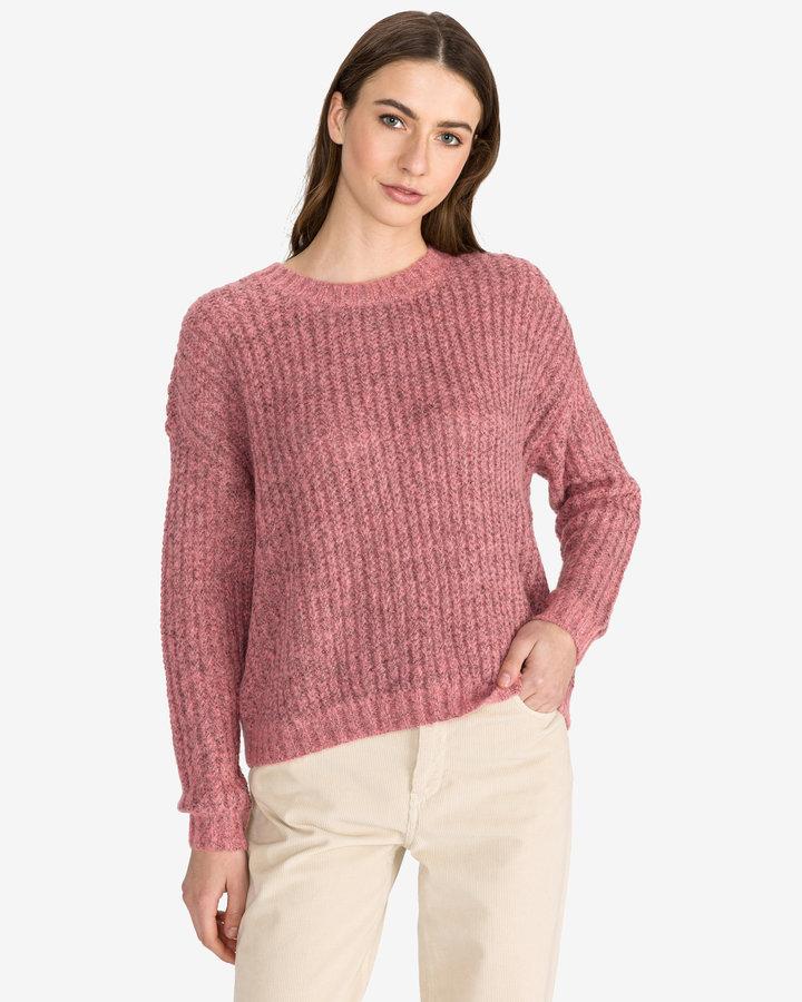 Růžový dámský svetr Vero Moda