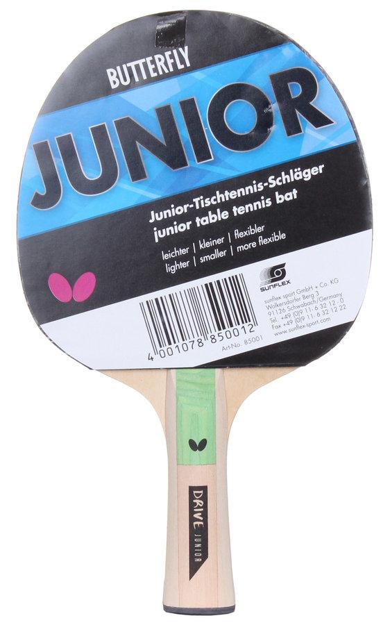 Pálka na stolní tenis Junior, Butterfly