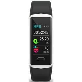 Černý fitness náramek FitBand B5, Evolveo