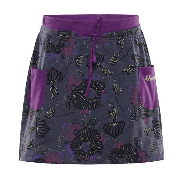 Černá dívčí sukně Alpine Pro - velikost 92-98