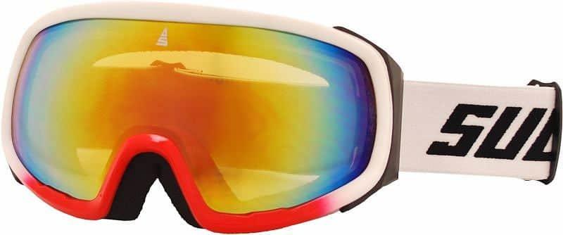 Bílé lyžařské brýle Sulov