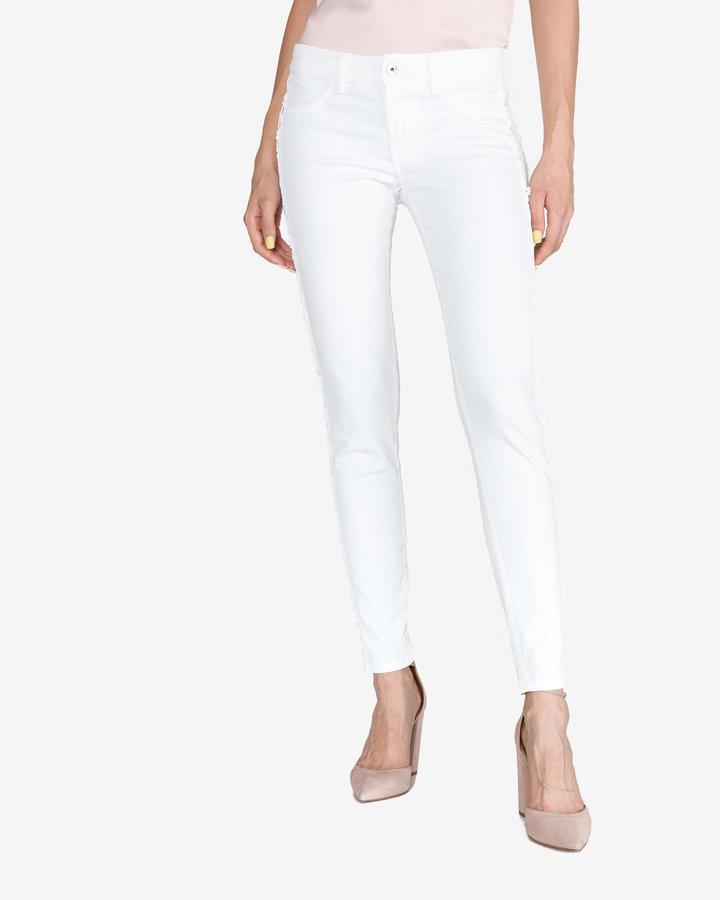 Bílé dámské džíny Just Cavalli