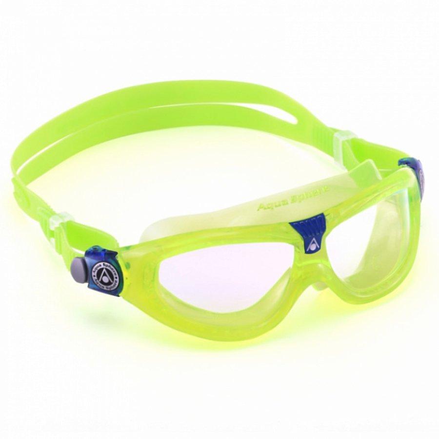 Zelené dětské chlapecké nebo dívčí plavecké brýle Seal Kid 2, Aqua Sphere