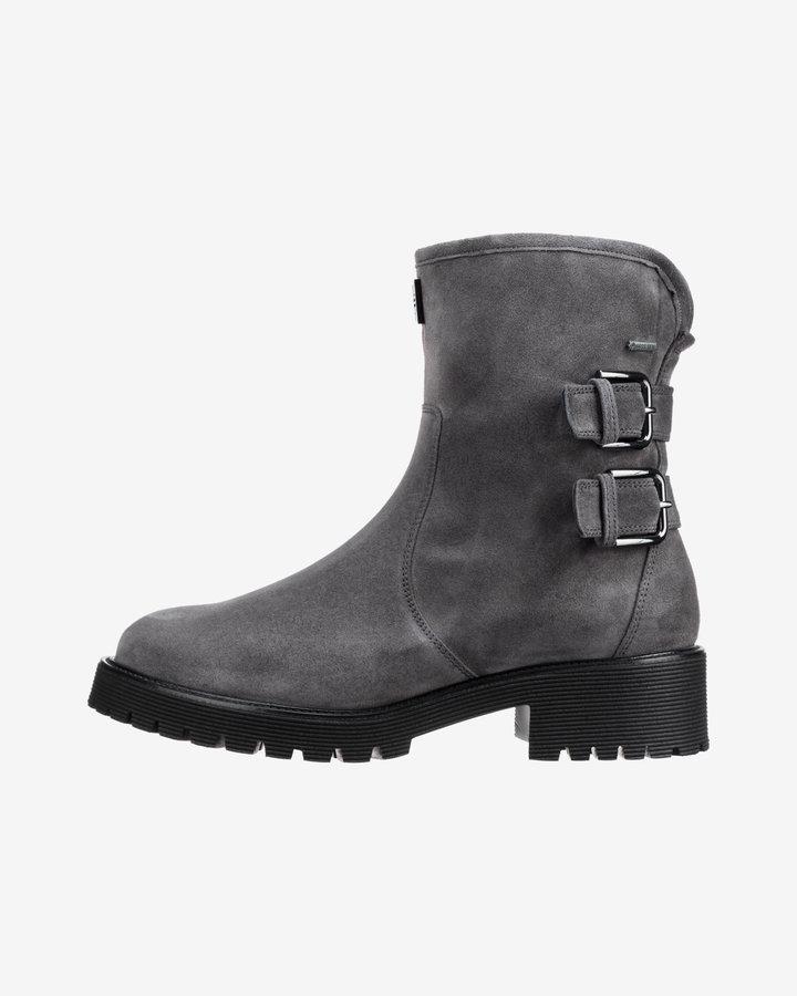 Šedé dámské kotníkové boty Högl