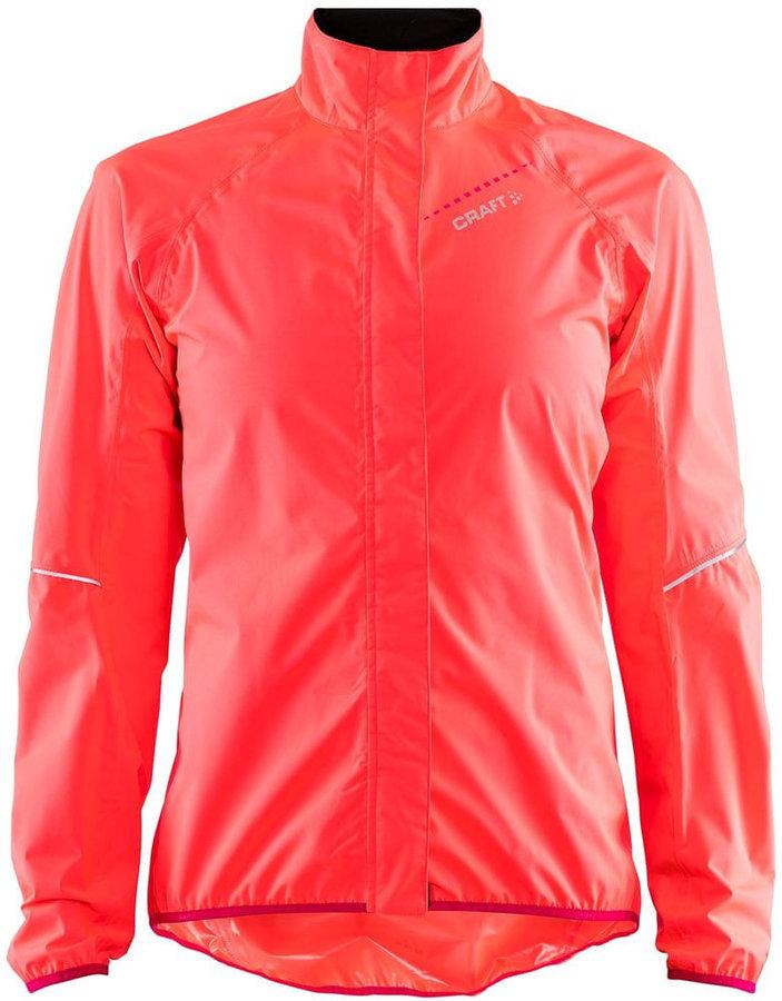 Růžová dámská cyklistická bunda Craft - velikost L