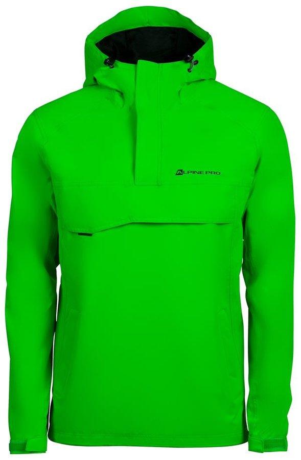 Zelená pánská bunda Alpine Pro
