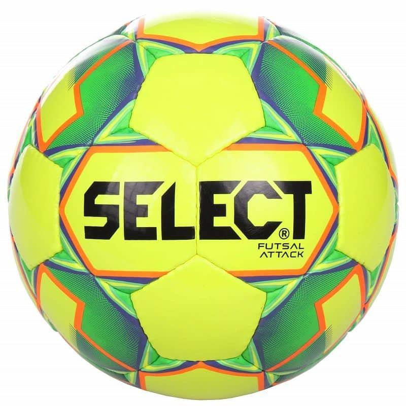 Futsalový míč - FB Futsal Attack futsalový míč barva: bílá-zelená;velikost míče: č. 4