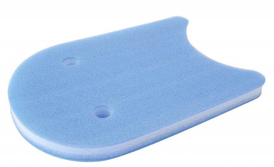 Modrá plavecká deska Yate - délka 48 cm, šířka 31 cm a tloušťka 4 cm
