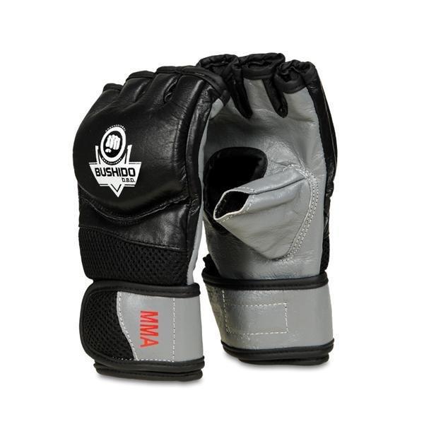 Černo-šedé boxerské rukavice BUSHIDO - velikost XL