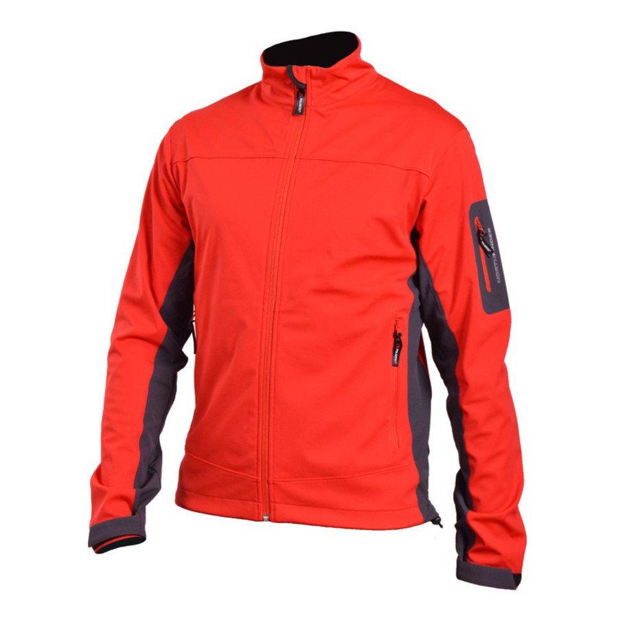 Červená pánská bunda na běžky NorthFinder