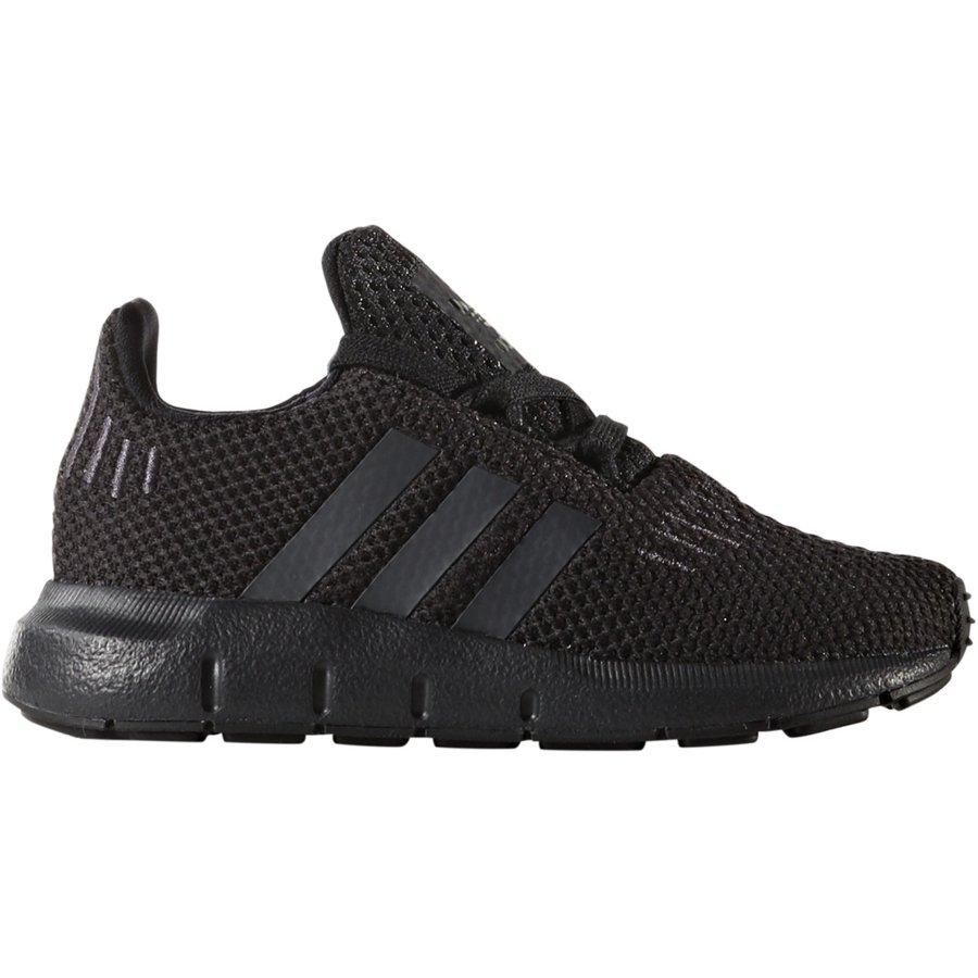 Černé dětské tenisky SWIFT RUN, Adidas - velikost 19 EU