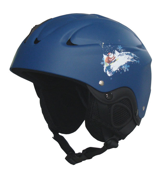 Modrá lyžařská helma Brother
