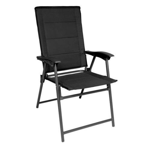 Kempingová židle - Židle ARMY skládací ČERNÁ