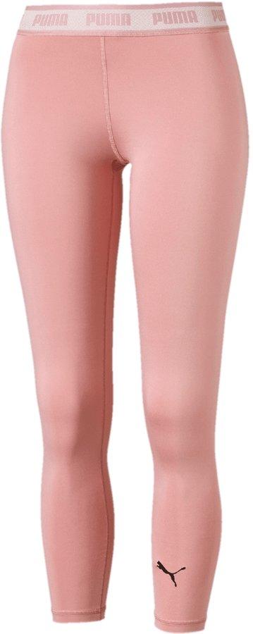 Růžové dámské běžecké legíny Puma