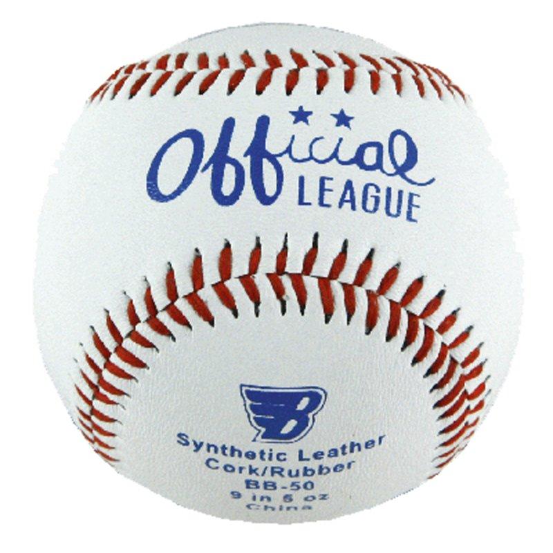 Bílý baseballový míček měkký SPARTAN SPORT