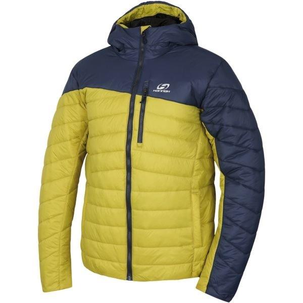 Žlutá zimní pánská bunda Hannah - velikost S