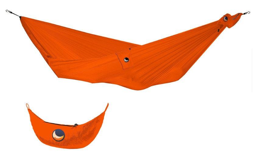 Oranžová houpací síť pro 1 osobu Ticket to the moon