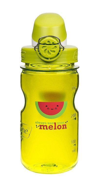 Žlutá láhev na pití OTF Kids, Nalgene - objem 0,35 l