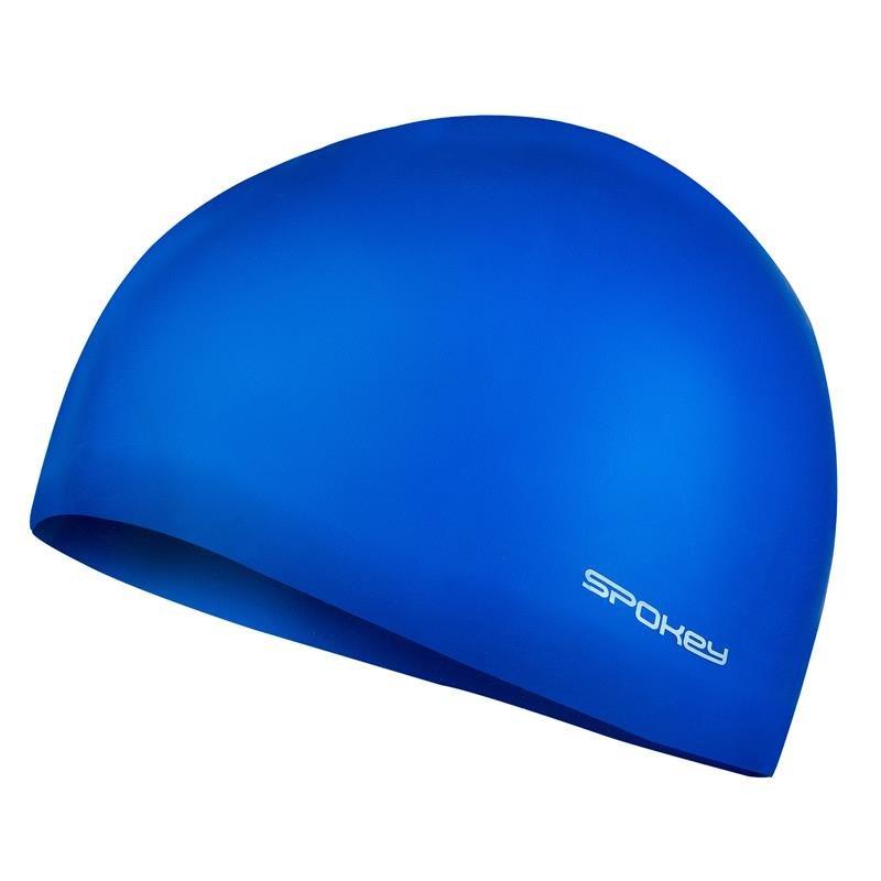 Modrá pánská nebo dámská plavecká čepice SUMMER, Spokey