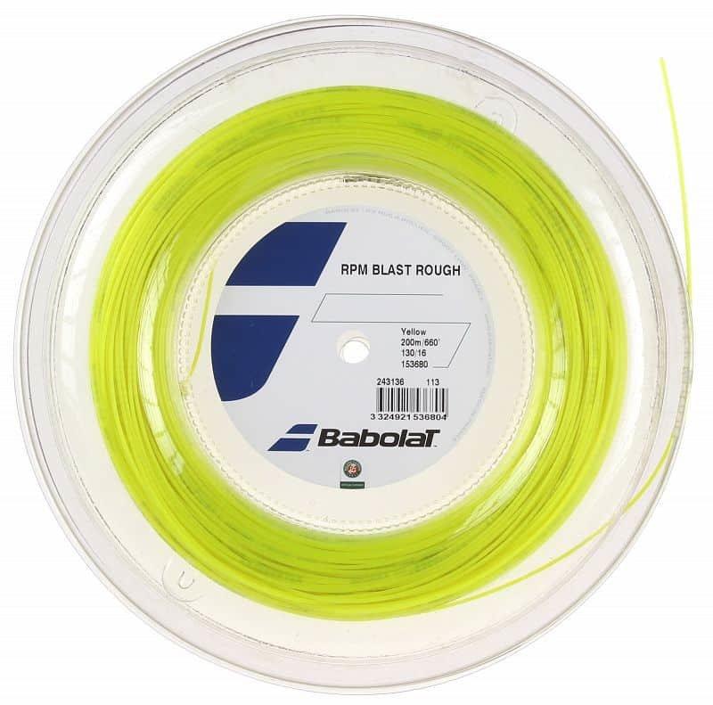 Tenisový výplet - RPM Blast Rough tenisový výplet 200 m průměr: 1,35;barva: černá