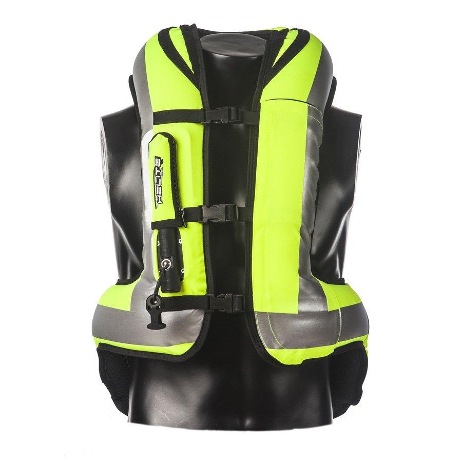 Žlutá motorkářská vesta Helite