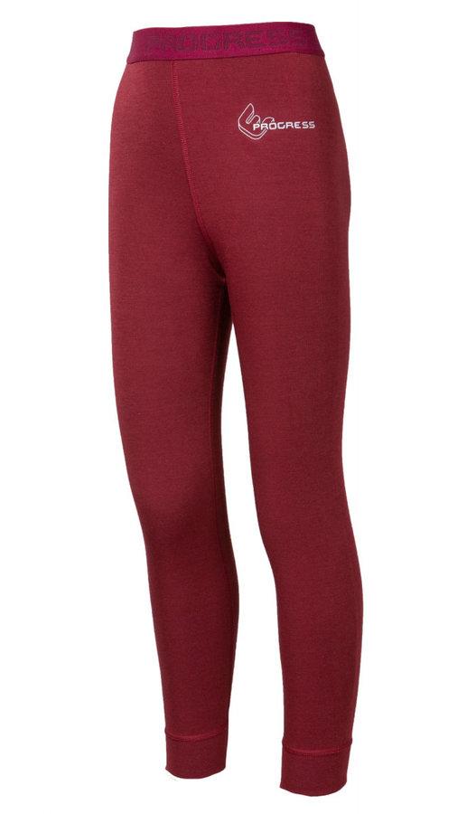 Červené dívčí funkční kalhoty Progress