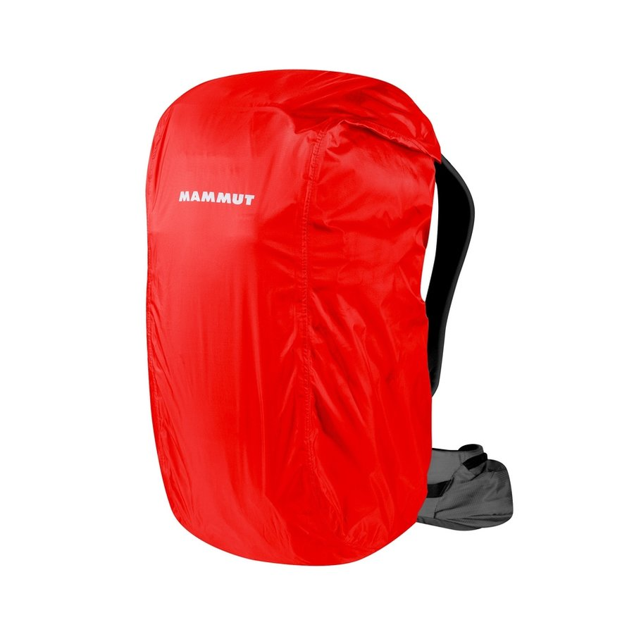 Červená pláštěnka na batoh Mammut - objem 25-35 l
