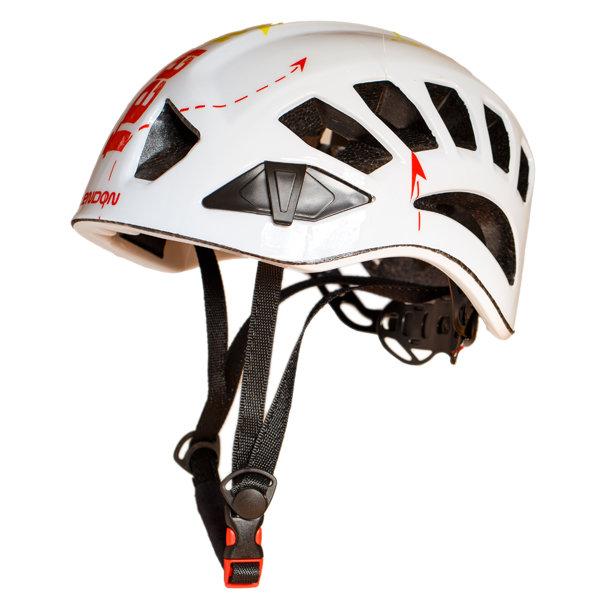 Bílá horolezecká helma Tendon (Lanex) - velikost 54-62 cm