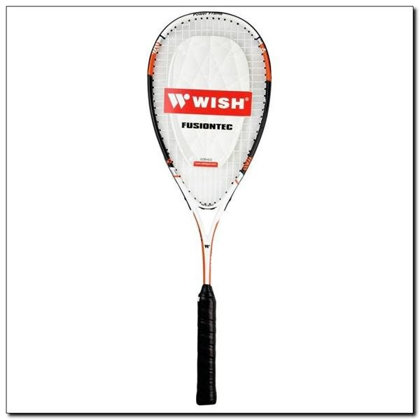 Oranžová raketa na squash 9907 FUSION TEC, Wish