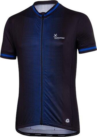 Modrý pánský cyklistický dres Klimatex