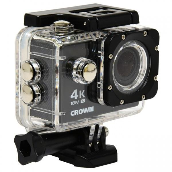 Černá outdoorová kamera DV140, Ecolite