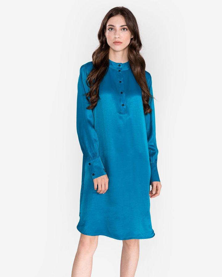 Modré dámské šaty Scotch & Soda - velikost XS