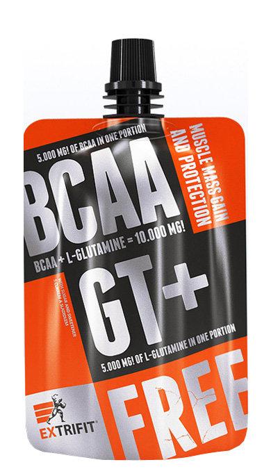 BCAA - EXTRIFIT BCAA GT+ 80 g meruňka