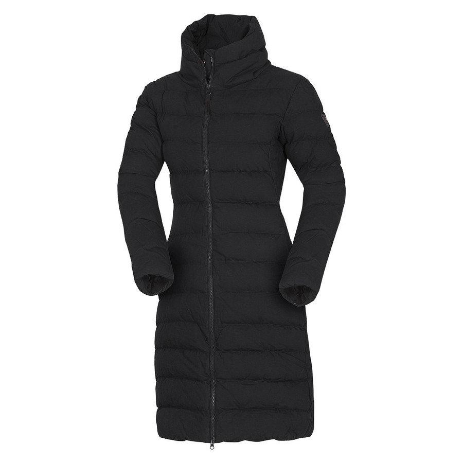 Černý dámský kabát NorthFinder