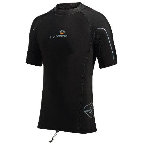 Černé funkční tričko s krátkým rukávem LC - velikost L