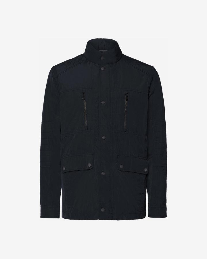 Černá pánská bunda - větrovka Geox