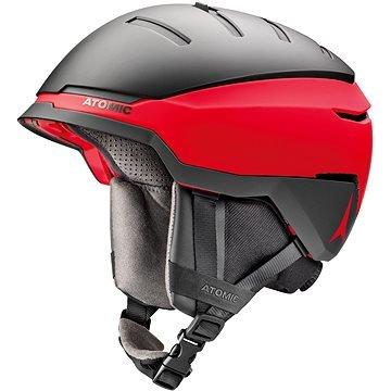 Červeno-šedá lyžařská helma Atomic