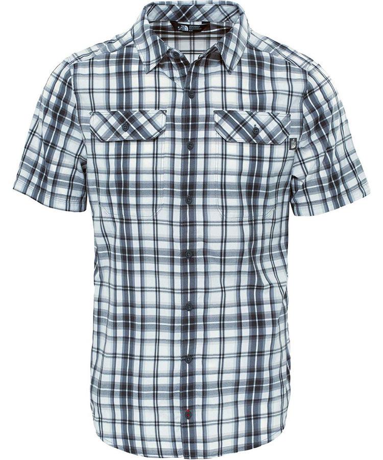 Modro-šedá pánská košile s krátkým rukávem The North Face