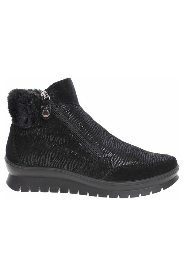 Černé dámské kotníkové boty Salamander - velikost 37 EU