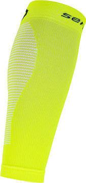 Žluté cyklistické návleky na nohy Sensor - velikost S
