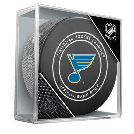 Hokejový puk - Oficiální puk utkání NHL St. Louis Blues