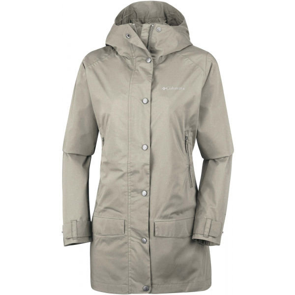 Béžový dámský kabát Columbia