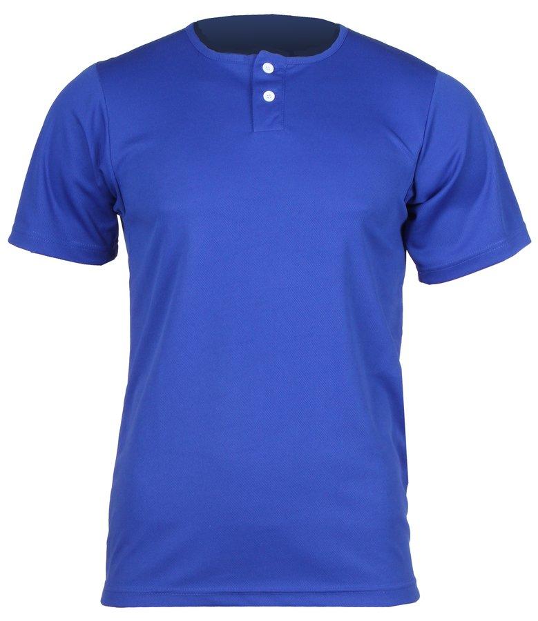 Modrý dětský baseballový dres YBJ, Pro Nine