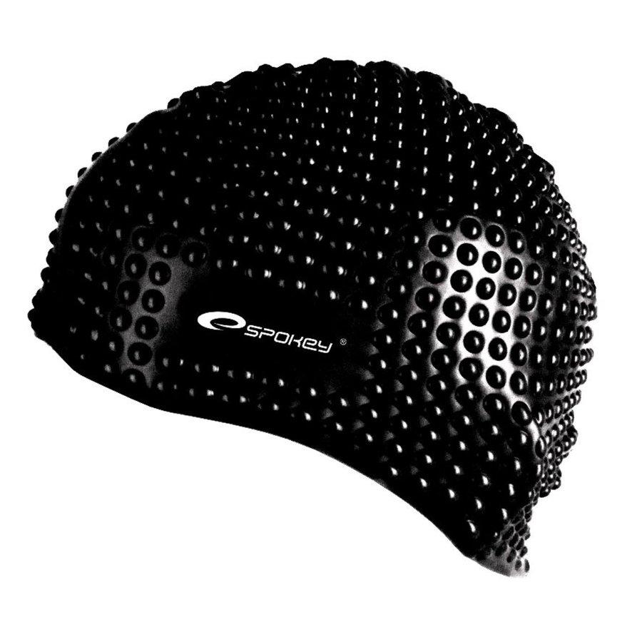 Černá pánská nebo dámská plavecká čepice BELBIN, Spokey