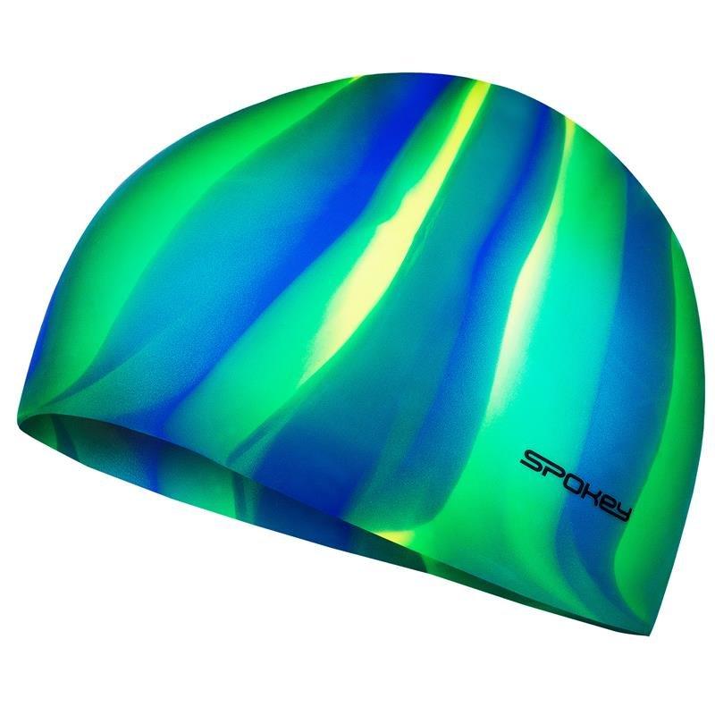 Různobarevná pánská nebo dámská plavecká čepice Spokey