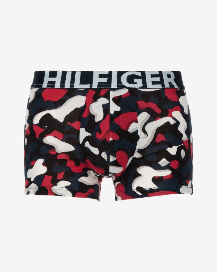 Maskáčové pánské boxerky Tommy Hilfiger - velikost S - 1 ks