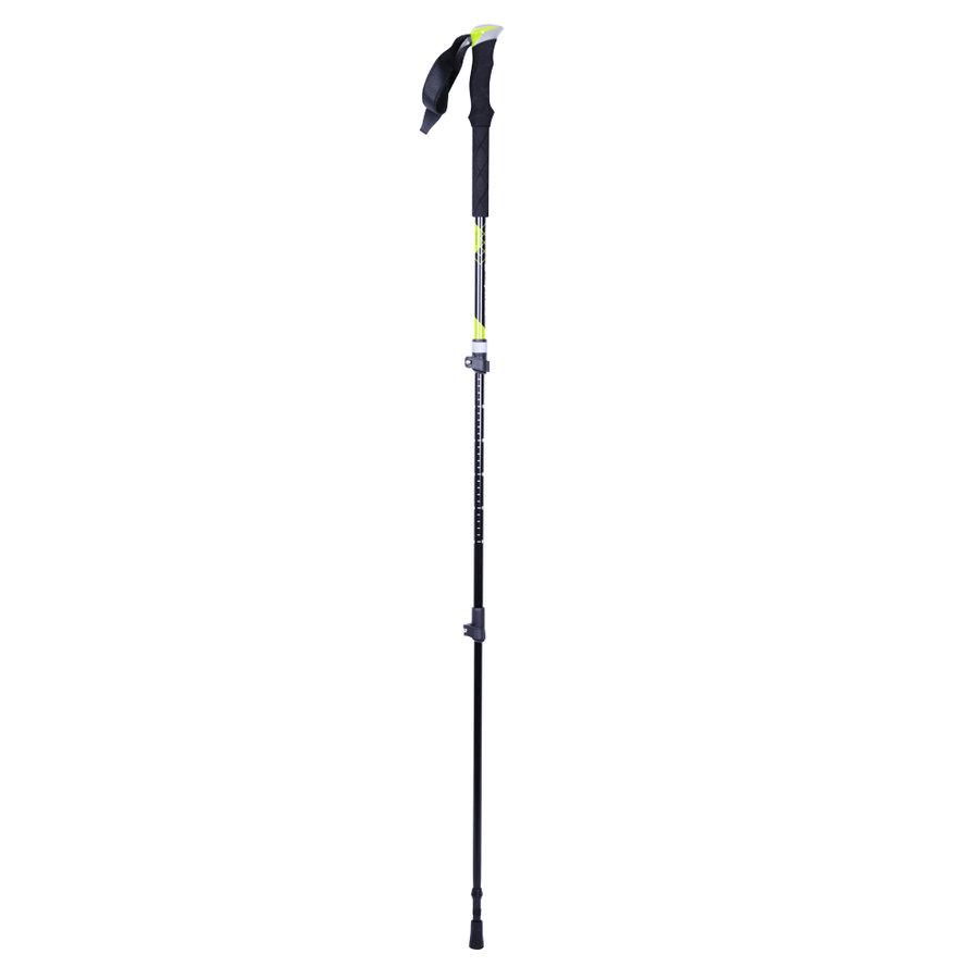 Černo-žlutá trekingová hůl Mirador, inSPORTline - délka 135 cm